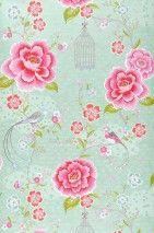 Amina | Papier peint romantique | Motifs du papier peint | Papier peint des années 70