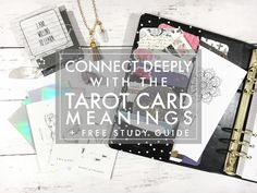 4 Tips for Deeply Connecting to the Tarot Cards Meanings   If you haven't noticed - either from the blog or from my Instagram - I've started to learn to read Tarot cards. This has been a great journalling mediation and self improvement tool for me. I highly recommend a little Tarot exploration if you're looking for some meaning in your life or you want to connect with your higher self. In my quest for mindfulness this year reading Tarot has helped me be more self aware and has helped me…