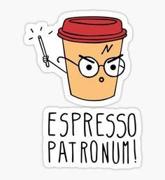 Expresso Patronum Sticker