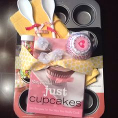 Cute gift idea for someone who enjoys baking or even a bridal shower gift. :0)