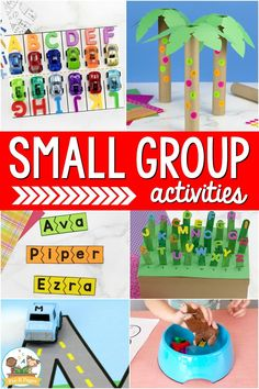 Small groups are an important part of a high-quality early childhood education. But what are small groups? How many should you have? And what should you teach in your small groups? These are all good questions when it comes to planning for effective small group activities in your preschool, pre-k, or kindergarten classroom. Small groups are a highly-effective instructional method that allows you to target your instruction to meet the needs and skills of each student in your classroom.