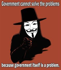 Government cannot solve the problems, because government itself is a problem. - http://www.sonsoflibertytees.com/patriotblog/government-cannot-solve-the-problems-because-government-itself-is-a-problem/