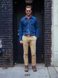 urban cowboy | casual menswear style