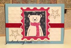 Justine's Cardmaking, Scrapbooking and Papercrafting: Stamp of the Month Blog Hop: Home for the Holidays!