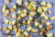 Aardappelpartjes uit de oven met rozemarijn en knoflook
