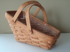 Longaberger Vegetable Basket with Plastic by FeistyFarmersWife, $20.00