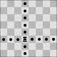 los movimientos de la torre en ajedrez