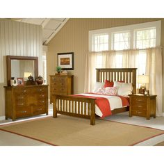 Great Savings on Hillsdale Furniture Outback Slat 5 Piece Bedroom Collection Today Furniture Design, Bedroom Collection, Mission Style Bedrooms, Hillsdale Furniture, Bed, Furniture, Online Furniture Stores, Retail Furniture, Bed Slats