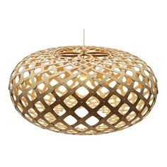 DT-KINA 600 - This gorgeous pendant is made from all natural bamboo and is a great statement piece for any home.