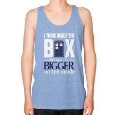 Fashions insidethebox Unisex Fine Jersey Tank (on man)