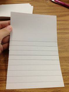 Common Core and So Much More: Note Card Flip Books