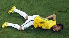 Mondiali, Brasile, Neymar: frattura di una vertebra, torneo finito