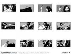 FamousFrames Storyboards, Animatic Artists, Storyboard Artists, Jonathan Woods