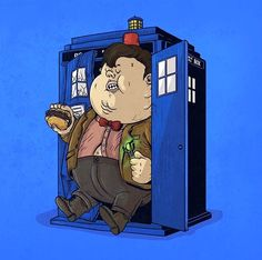 Fat Pop Culture – 39 nouvelles illustrations obèses d'Alex Solis ! (image)