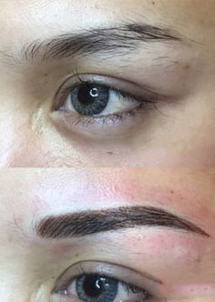 View our permanent cosmetics eyebrow tattoo before and after photos from actual clients, performed by our Certified Permanent Cosmetic Professionals. Before After Photo, Eyebrow Tattoo, Eyebrows, Cosmetics, Tattoos, Eye Brows, Irezumi, Tattoo