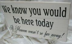 Remembering Our Loved Ones on itsabrideslife.com #wedding #honoringlovedonesatwedding #rememberinglovedonesatwedding