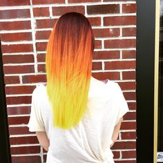 Candy corn Layered Color
