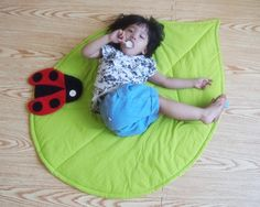 I love nature leaf blanket from Clare Chen
