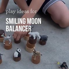 Guest writer Missy shares her 4 fun ideas for playing with Smiling Tree Toys signature Smiling Moon Balancer #eduationaltoy #playbasedlearning #woodtoys Toys For Us, Kids Toys, Learning Numbers, Natural Parenting, Sensory Bins, Wood Toys, Raising Kids, Fun Ideas, Baby Toys