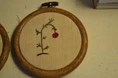 Charlie Brown christmas tree embroidery
