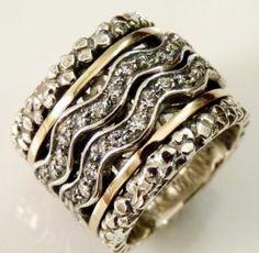 Poze Inel argint si aur 14k, zircon R2910SN - PREMIUM