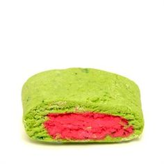 Lush Melomint Bubble Bar:If you like spearmint chewing gum you'll likely have a weakness for this bubble bar. The mint, cypress and chlorophyll provides relief to tired and aching bodies at the end of a hard day, and with the look and shape of a slice of watermelon, this bubble bar is a beauty.