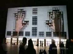 id.바닥맵핑 3D projection on a Building