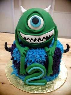 3D Monster Inc Cake