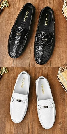US $25.2 <Click to buy> Prelesty Plus Size Swag Cool Men Casual Loafer Gentleman Fashion Party Plaid Pattern