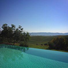 Missing this vantage point... #latergram #poolwithaview #ValdOrcia #takemeback