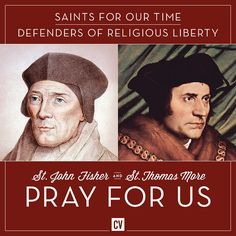 Prayer for the Protection of Religious Liberty by St Thomas More (Saint of the Day – June 22) #pinterest O God our Creator, from your provident hand we have received our right to life, liberty, and the pursuit of happiness. You have called us as your people and given us the right and the duty to worship you, the only true God, and your Son, Jesus Christ. Through the power ............