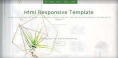 web design for a free html template developed with Bootstrap