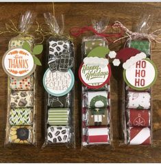 Stampin' Up! Candy gift boxes