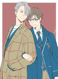 All Anime, Anime Art, Anime Stuff, Manga, Ai No Kusabi, Yuri!!! On Ice, Yuuri Katsuki, Bishounen, Anime Costumes