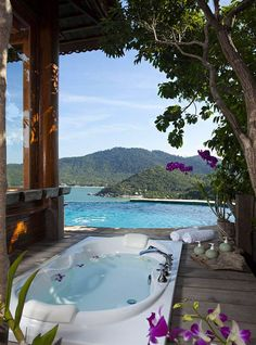 Where to stay in Koh Phangan? Santhiya Koh Phangan Resort and Spa, Thong Nai Pan Noi, Thailand ★★★★★ Vacation Places, Dream Vacations, Vacation Spots, Places To Travel, Travel Destinations, Koh Phangan, Resorts, The Places Youll Go, Places To Go