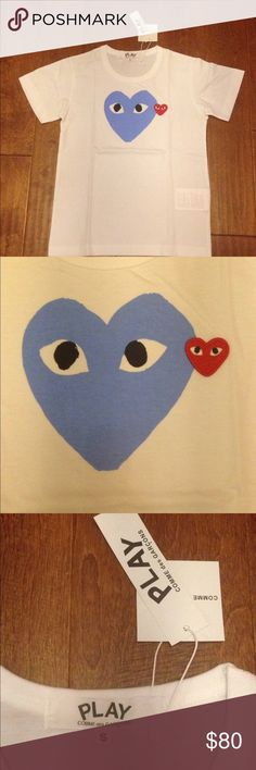 Comme Des Garcons tee Shirt Authentic Comme des Garcons Shirts Tees - Short Sleeve