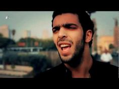 "Ramy Essam, 23, is known as ""the singer of the Egyptian revolution"" or ""the voice of the Egyptian uprising""."