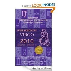 Virgo (Super Horoscopes 2012). The most comprehensive day-by-day predictions on the market. Every day, people depend on their horoscopes for a glimpse of whats to come-and Berkleys Super Horoscopes offer the predictions that theyre searching for. With special sections on the history and uses of astrology, these updated books will show readers exactly what the future holds for them. Each sign includes: * Detailed yearly and daily forecasts * Rising signs and rising times * Lucky n mattesized332