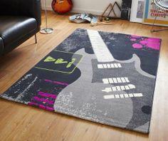 Nice Modern Style Rugs   Capri Guitar Rug, £25.00 (http://www