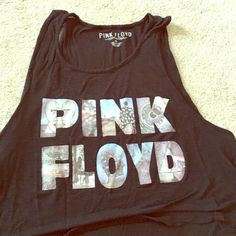 Pink Floyd crop top Worn a few times but good condition Tops Crop Tops