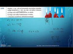 Matematik 5000 Ma 2c - Kapitel 1 - Algebra och Linjära modeller - Linjär...