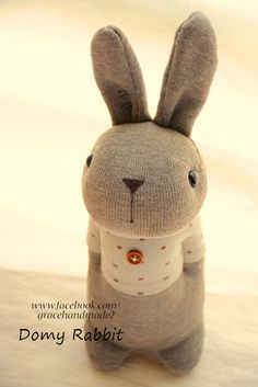 Grace--#370 sock Domy Rabbit