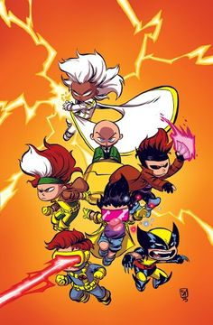 X-Men 92 #1 by Skottie Young