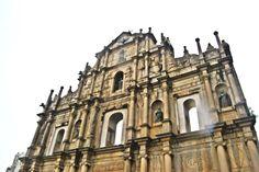 Ruins of St Paul, Macau Waves Goodbye, Work Visa, Macau, Notre Dame, Hong Kong, Travel, Viajes, Destinations, Traveling