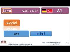 almanca I Deutsch I wobei - türkce tercümeli Youtube, Deutsch, Youtubers, Youtube Movies