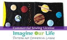 Système solaire calme livre Page Commercial par ImagineOurLife