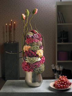 design-Floristik des Monats: kreative Dauerfloristik als variabler Floralschmuck