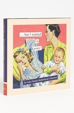 Coffee tabke book I NEED  Anne Taintor 'But I Wanted a Pony' Book available at #Nordstrom