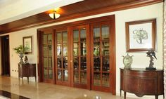 15 French Doors for Inspiration French doors speak class and elegance to any home. Just by looking at them, they give off an elegant feel that is very attractive to most people. They are - 15 French Doors for Inspiration Interior Sliding French Doors, Internal French Doors, Glass French Doors, French Doors Patio, Interior Barn Doors, Exterior Doors, Patio Doors, Glass Doors, French Interior
