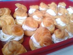Képviselőfánk recept Muffin, Dairy, Cheese, Breakfast, Cake, Fours, Pastries, Creative, Kitchen